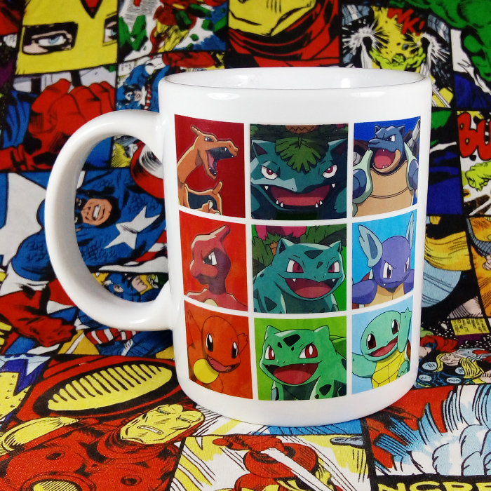 Official Imperfect Limited Ceramic Coffee Pokemon Mug Pocket Monster Milk Cup Collection Mug Multicolor for Fans