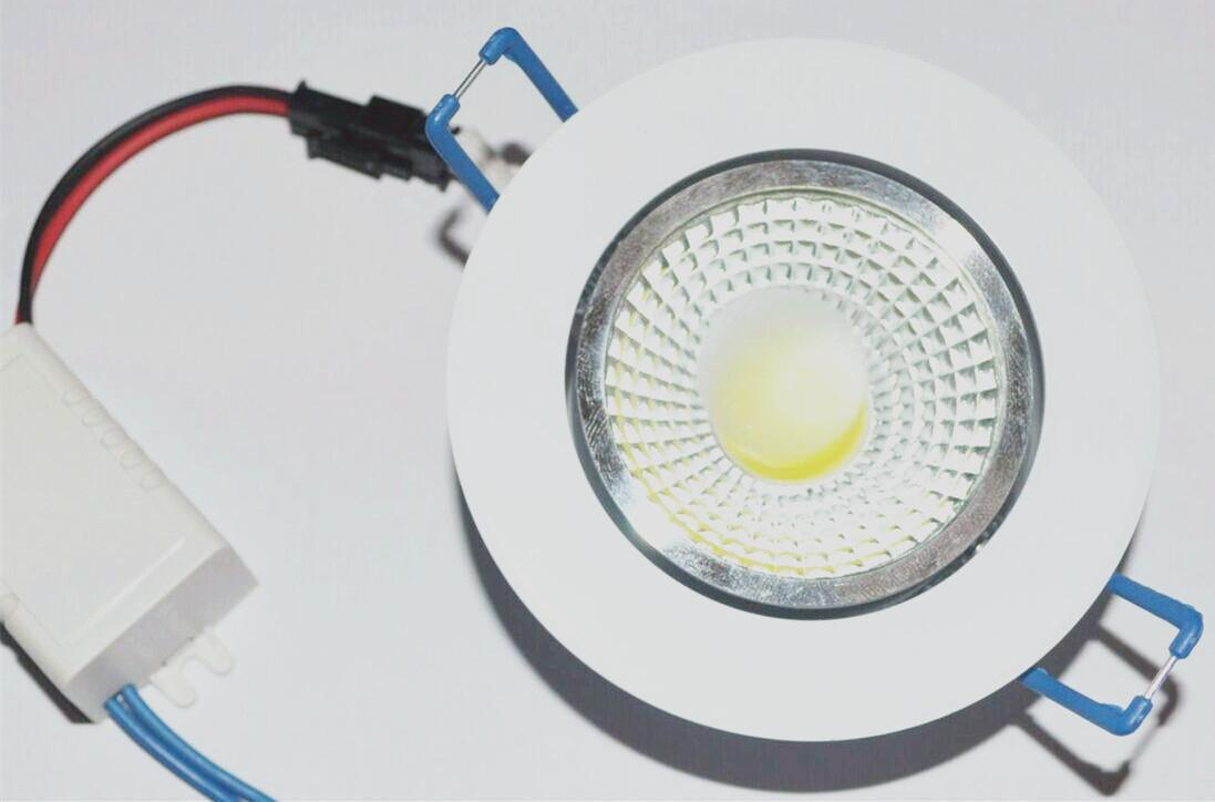 5W 7w 9W 12w LED COB chip downlight Recored LED Առաստաղի - Ներքին լուսավորություն - Լուսանկար 3