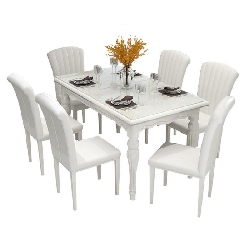 купить Room Comedores Mueble Marmol Set Salle A Manger Moderne Esstisch Tisch Tavolo Pliante De Jantar Tablo Desk Mesa Dining Table недорого
