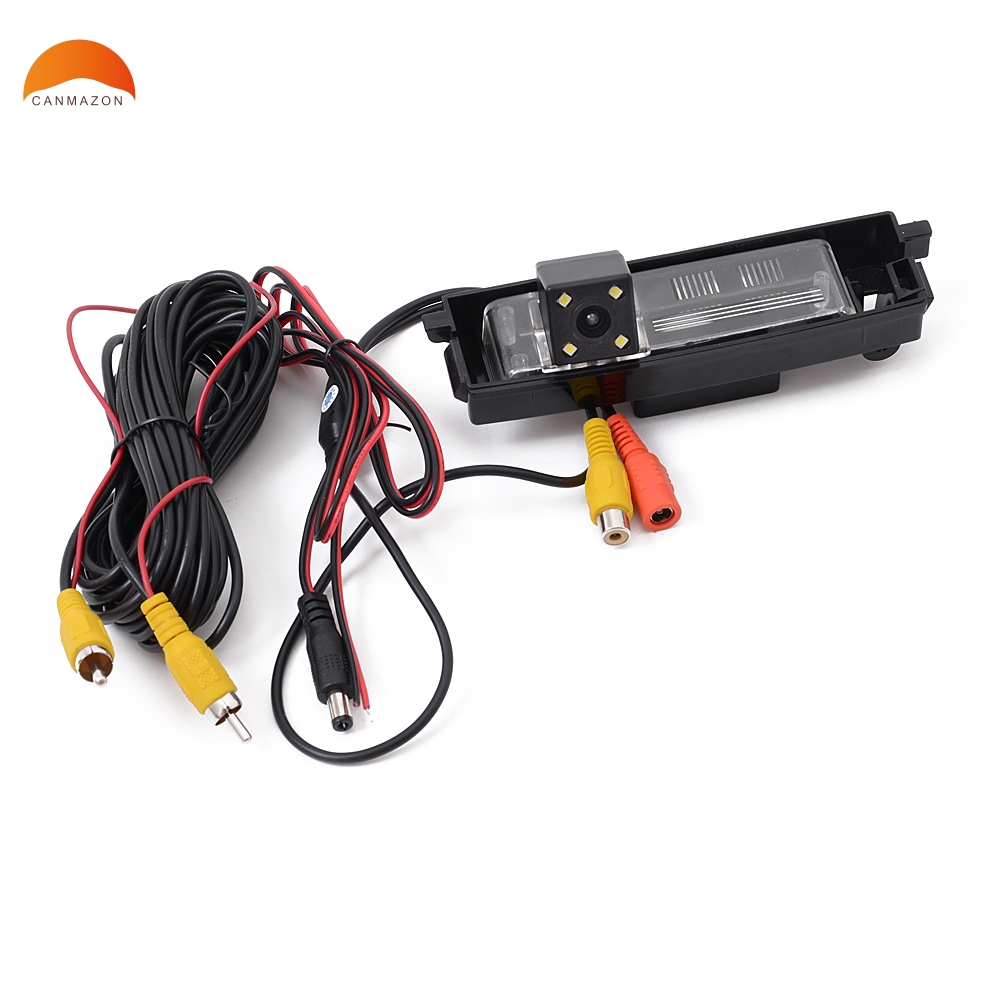 For Toyota RAV4 RAV 4 2000-2012 Car Rear Reverse backup Camera Night Vision LED Rear View Reverse Backup Camera Rearview Parking dynamic trajectory tracking auto backup parking reverse camera rearview rear view reversing parking camera for ford focus 2012
