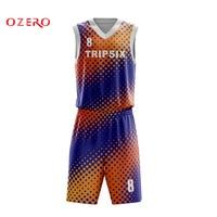 professional design basketball jersey men high quality full custom basketball set