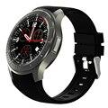 """2017 nova dm368 3g smart watch smartwatch relógio de pulso 1.39 """"exibição Quad Core Bluetooth 4.0 Monitor De Freqüência Cardíaca para o telefone android"""