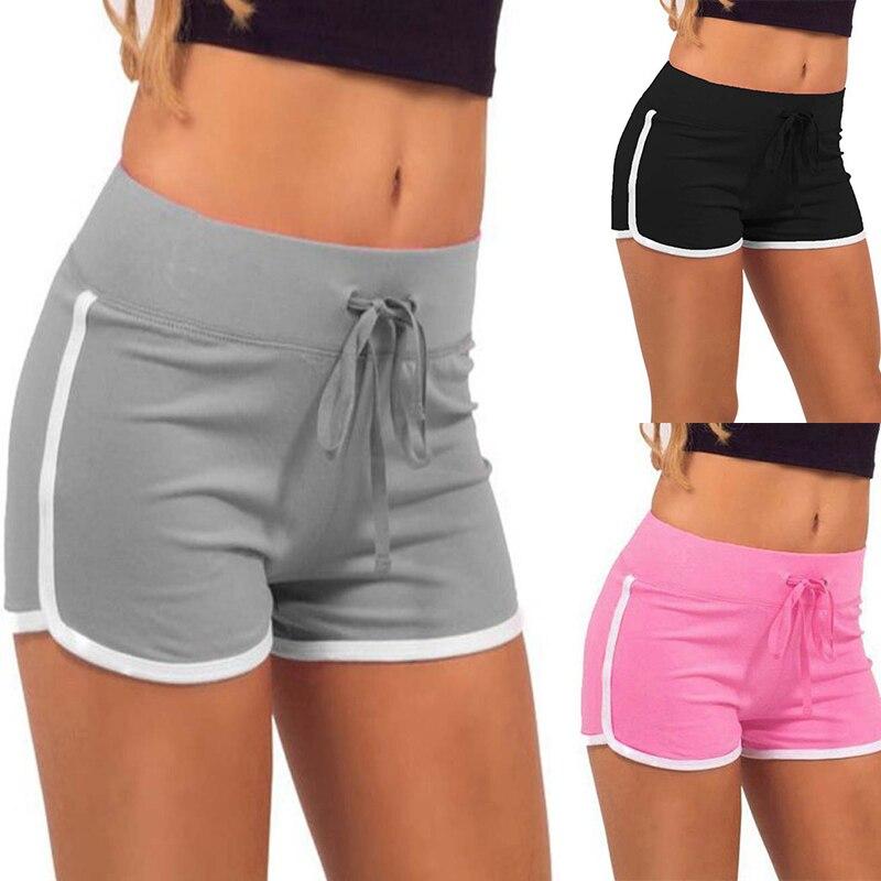 2018 Women Sport Fitness Yoga Shorts Women Athletic Shorts Cool Ladies Sport Running Short Fitness Clothes Jogging Plus Size