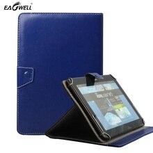 Universal de la pu leather case para 9.7 pulgadas 10 pulgadas 10.1 pulgadas para android tablet pc mid cubierta del soporte para samsung galaxy tab 4 10.1