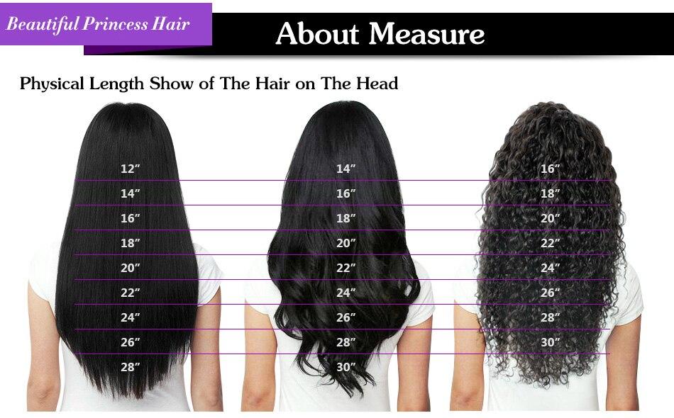 Beautiful Princess Body Wave Human Hair Bundles With Closure Double Weft Remy Brazilian Hair Weave 3 Bundles With Closure