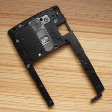 Black Back Housing Plate Camera Lens Cover Bezel Frame Replacment For LG Magna H500F LG_H500F_HQZC_Hei