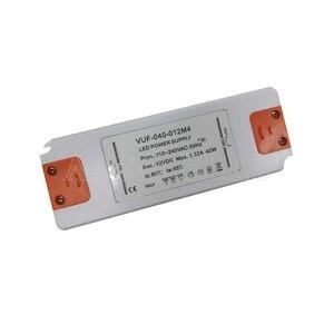 Image 5 - 12 Volt di Alimentazione 12 V LED Driver 20W 30W 40W 50W 60W AC 110V 220V a 12 V DC Illuminazione Trasformatore Adattatore per la Striscia del LED CCTV