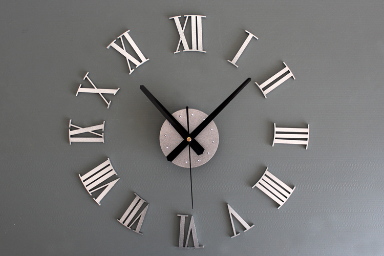 2016 New Sale Reloj Reloj Pared Diy Wall Clock Roman