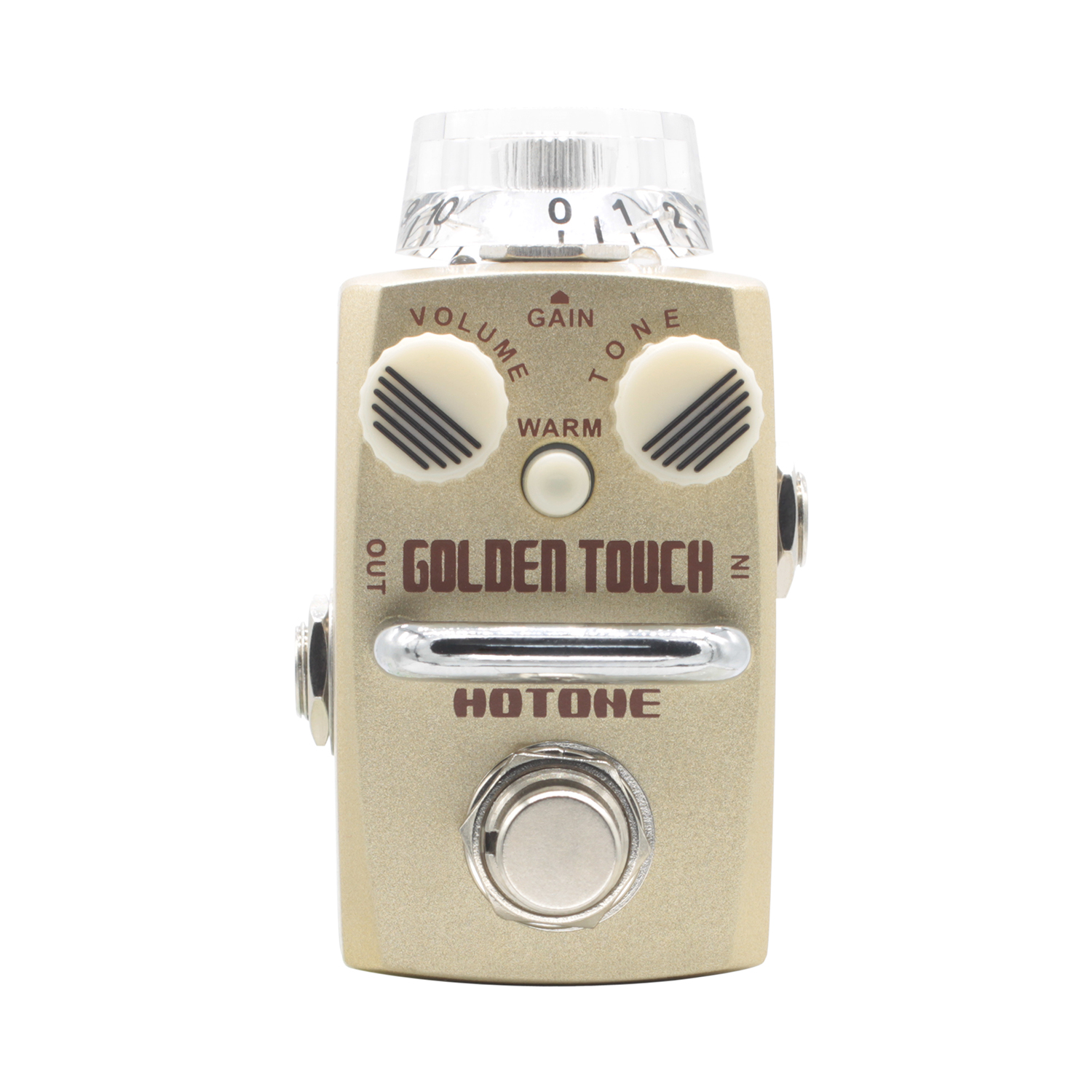 Hotone Golden Touch Overdrive Guitar Effect Pedal True Bypass Effects for Electric Guitar Warm Natural Sweet Sound overdrive guitar effect pedal true bypass with 1590b green case electric guitar stompbox pedals od1 kits