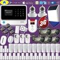 G90B Plus + 3G GSM Wi-Fi управление приложением Домашняя безопасность домашняя охранная сигнализация пожарная сигнализация  1080P наружная камера WIFI