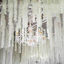 Cherry Blossom Vine Artificial Flowers String Orchids Wisteria for Wedding Decor