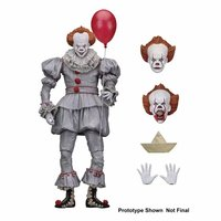 NECA 7 Action Figure Terror Film It Ultimate Pennywise 2017 Joker with balloon Good Toys for Child