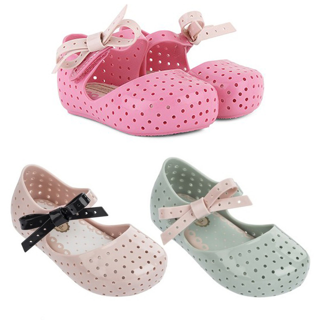 Девушки сандалии красивая, mini melissa обувь для девочек удобные