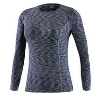 Eshtanga Women Long Shirts Sports Shirt Yoga Long Sleeve Shirt Quality Compression Thick Material Tank Size