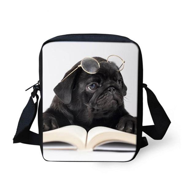FORUDESIGNS/женская маленькая сумка через плечо с объемным рисунком собаки чихуахуа, модные женские сумки-мессенджеры, сумки через плечо - Цвет: Z1200E