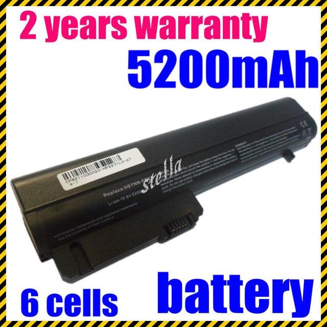 JIGU Laptop Battery For HP 2533t EliteBook 2530p EliteBook 2540p Hp Compaq Business Notebook 2400 2510p NC2400  6 CELLS