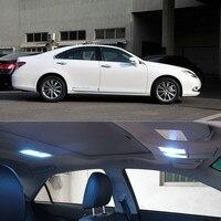 12v 13pcs LED Bulb Interior Lights Package Kit For Lexus ES 250 300 350 2012 2015 Car styling