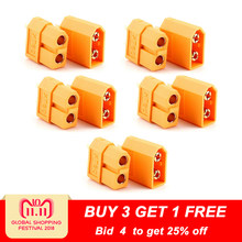 10pcs XT60 XT-60 Male Female Bullet Connectors Plugs For RC Lipo Battery (5 pair) Wholesale(China)