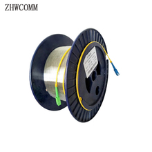 ZHWCOMM SC singlemode Single bare fiber OTDR measuring Optical Fiber Cable 1KM 9/125 OTDR test optical fiber reels