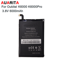 AAA Quality Battery 5pcs Lot Phone Battery For Oukitel K6000 Battery Bateria For Oukitel K6000 Pro