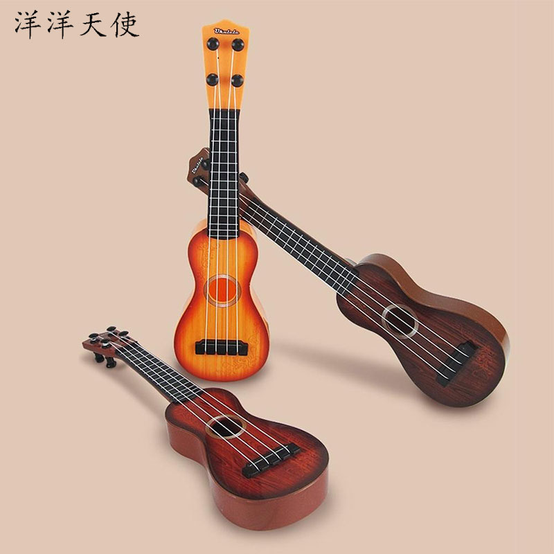 Baby Boys Music Toys Ukulele Guitar Kids Toys Learning Educational Toys For Children Beginner Classical Musica Guitar Instrument image