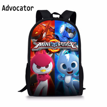 Школьная сумка для мальчиков, детские 3D аниме, мини-сумки с принтом силы для девочек, рюкзак с героями мультфильмов, Детский сад, Zaino Scuola