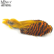 MNFT Natural Color Golden Pheasant Feather Fly Tying Material for Fly Fishing Flies Hackle Making 2 Choices