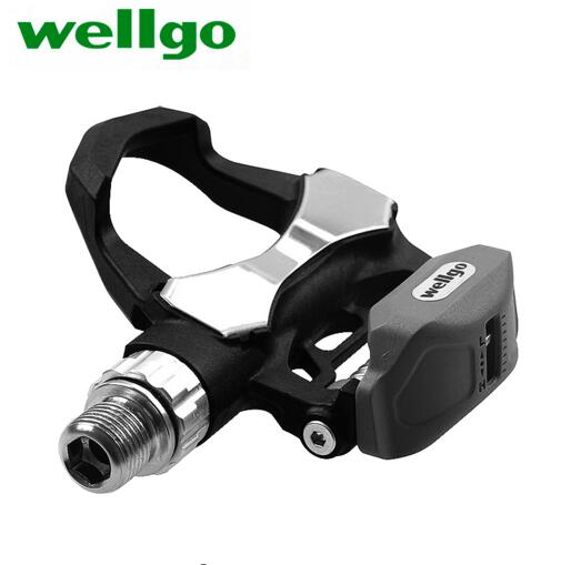 High Quality Wellgo R168 Carbon road mtb Bicycle Bike Pedal Cycling self Lock Bicycle Pedals