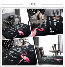 Customized logo brand your text photo Carpet Flannel Floor Mat rugs and carpets for home living room Multi-Size large Area Rug