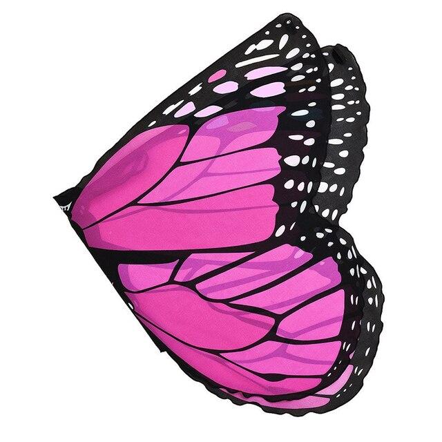 VOGUEON-Cape ailes papillon | Accessoires de Costume de fête Cosplay conte de fées pour enfants, cadeau danniversaire, pour garçons et filles