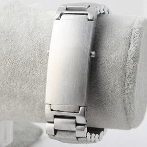 Image 5 - MERJUST AAA Kwaliteit 316L 20mm 22mm Zilver rvs Horlogebanden Riem Voor omega seamaster speedmaster planet ocean riem