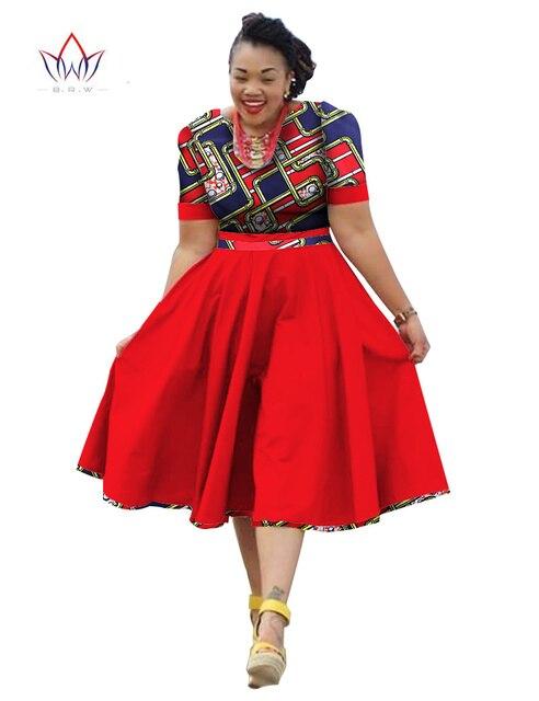 Платье с африканской женщиной