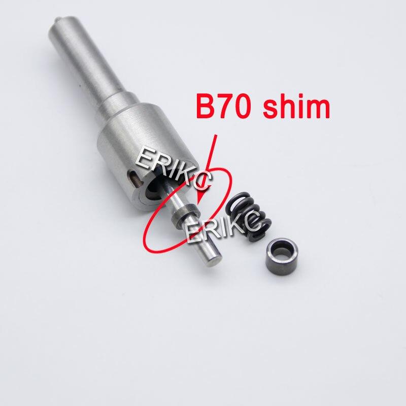 B70 инжектор шайбы форсунки 50 шт. прокладки 1,62 1,80 мм Регулировка масла прокладки и арматура Лифт регулировочный Комплект прокладок для Bosch пьезо