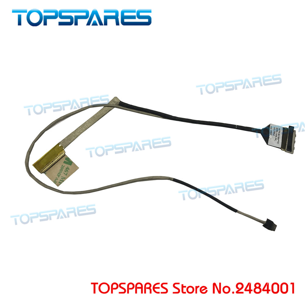 New LCD cable For Travelmate <font><b>8372</b></font> 8372T 8372TG TM8372 BAP30 screen screen cable 6017B0275101 display screen cable image