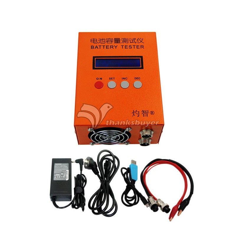 Battery Lithium Li-po Capacity Tester 85W 5A Charge 20A Discharge EBC-A20 Multifunction Battery Current Test ebc a40l high current battery capacity tester battery line graph battery tester battery testing 20acharge 40a discharge