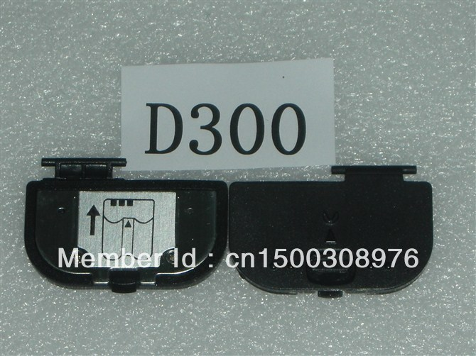 FREE SHIPPING Battery Cover For NIKON D300 Digital Camera