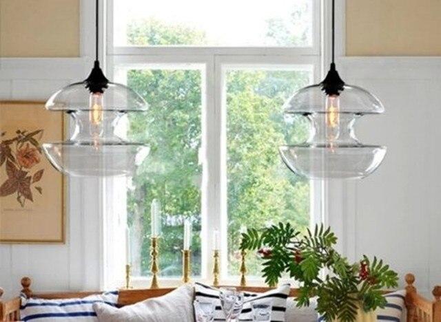 Plafoniere Per Sala Da Pranzo : Spedizione gratuita diametro 25 cm new modern glass diabolo