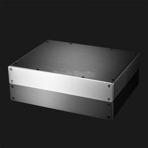 Image 3 - مضخم الطاقة Nobsound/Preamp/سماعة أذن Amp/DAC هيكل الألومنيوم الضميمة لتقوم بها بنفسك علبة صندوق