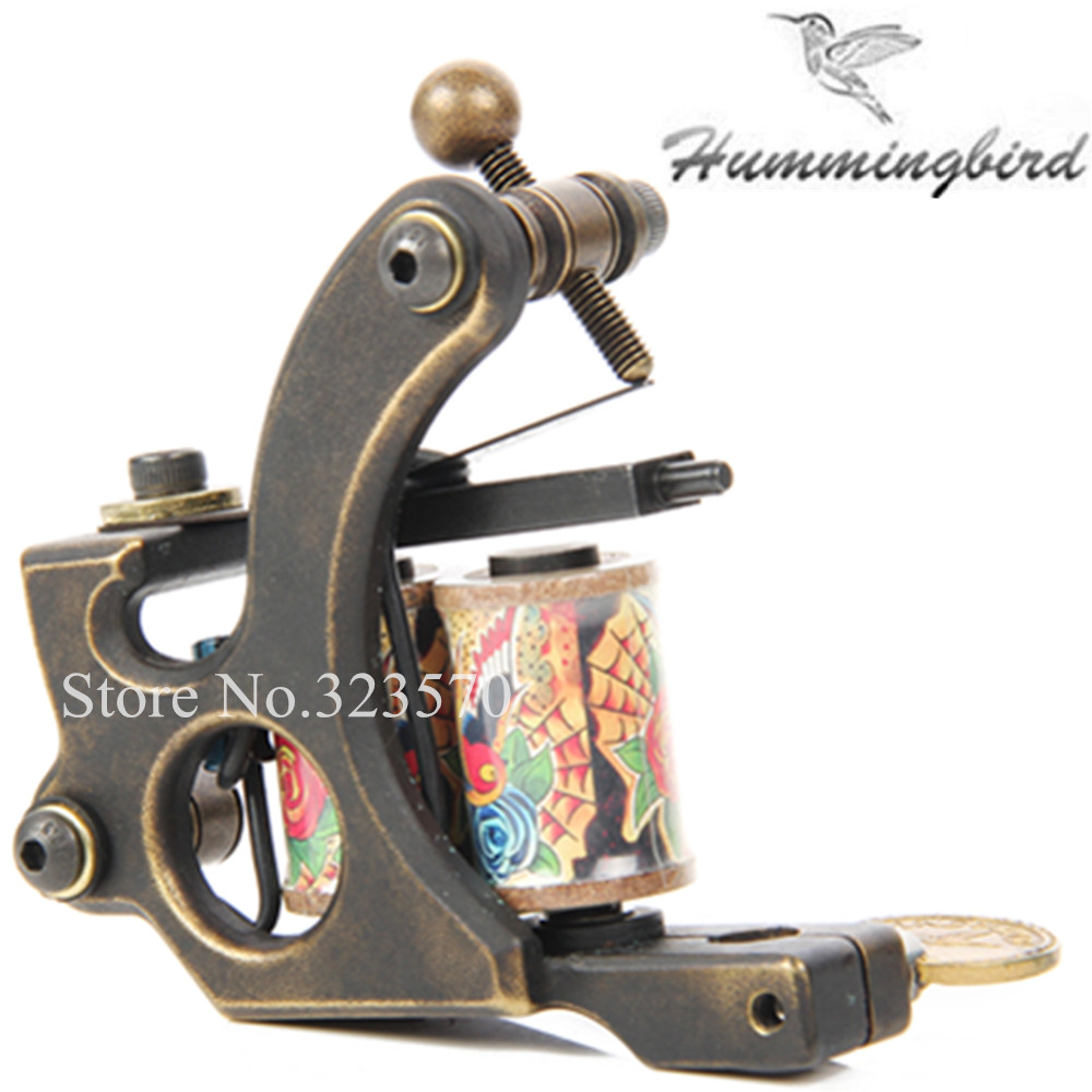 Top Pro Handmade Copper Tattoo Machine Gun 8 Wrap Coils Set Shader For Tattoo Supply -- FTM-2244S jm1288 fashionable chiffon sleeveless women s dress green size l