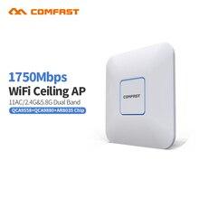 4pcs 1750Mbps 802 11 AC Dual Band 2 4 5 8 GHz Comfast indoor Gigabit AP