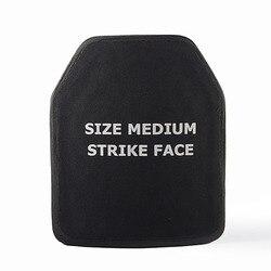 Placa a prueba de balas Nivel IV 4,0mm aleta de pecho para AK47 chalecos a prueba de balas armadura del cuerpo 6,0mm M16 tres tipos de placas de espesor