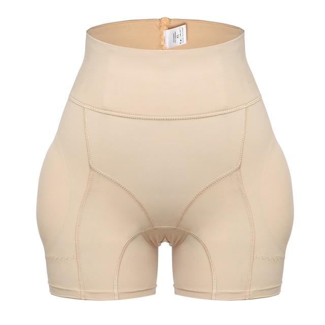 Women High Waist Shaper Butt Lifter Panties Enhancer Padded Control Panties Boyshort Briefs Fake Ass Buttock Hip Pants Underwear 5