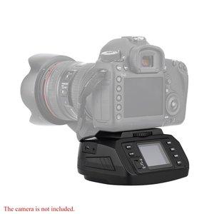 Image 2 - Sau Công Nguyên 10 Tự Động Chân Máy Tripod Ballhead Toàn Cảnh Đầu Điện Tử Camera 360 Độ Chân Máy Đầu Cho Canon/Nikon/Sony /Pentax Camera