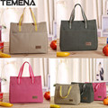 TEMENA  Lancheira thermo lunch bag cooler insulated  for women kids thermal bag lunchbox food picnic bag handbag tote BLB396A