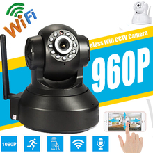 Home Security 1.3MP IP Camera Wireless Smart WiFi Camera WI-FI Audio Record Surveillance Baby Monitor HD Mini CCTV Camera 960P smart wifi camera home security ip camera wireless audio record baby monitor hd 720p with hotspot cctv camera