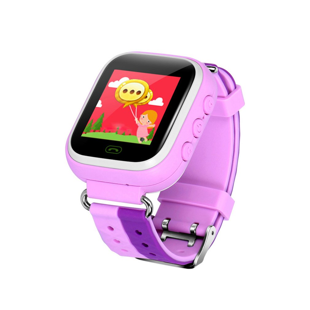 Location-Device Safe-Watch Anti-Lost-Tracker Children GPRS Fashion Smart Q18 Touch-Screen