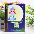 Owl 3D stereo passport holder passport cover identity documents folder sets - essential travel abroad