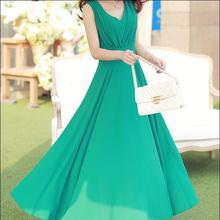 Hot Bohemia Style Women's Asymmetric Sleeveless long Dresses Casual Maxi Dress Vestidos Femininos For Elegant Women longo XL