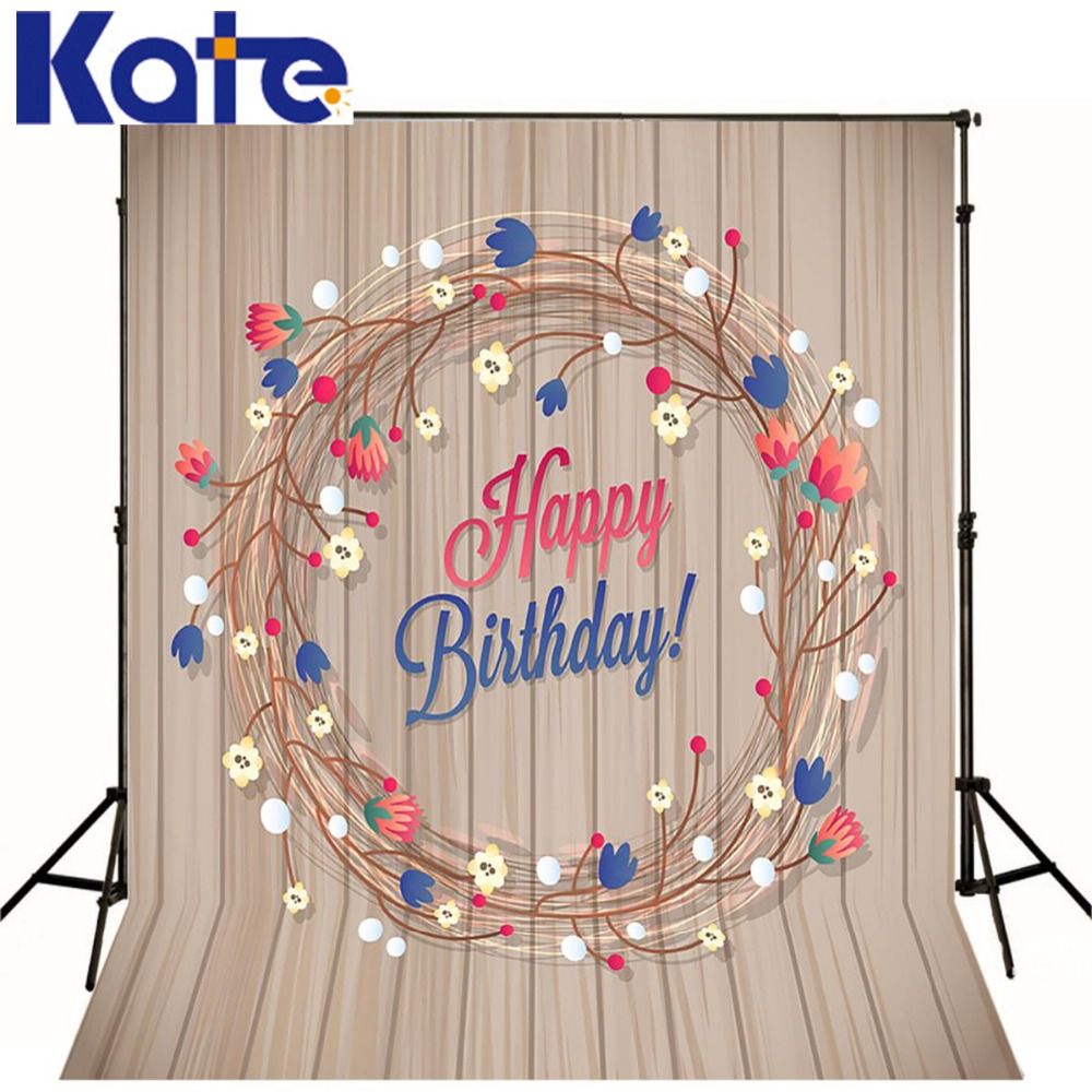 Kate Baby Birthday Background Wood Floor Wall Photography Backdrops Newborn Photography Background Photo For Studio Custom shengyongbao 300cm 200cm vinyl custom photography backdrops brick wall theme photo studio props photography background brw 12