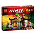 Nuevo 214 unids bela 10319 dojo enfrentamiento ninjagoed jouet de construcción diy kazi building block compatible lepin bela sluban regalo